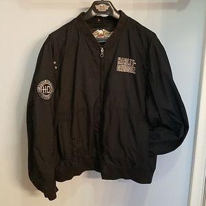 Men's Harley Davidson Bomber Jacket